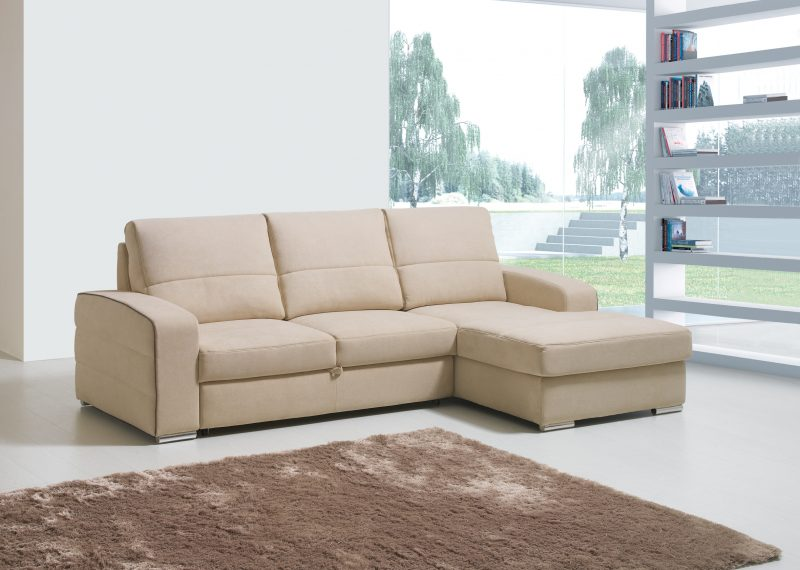 Sof cama jordan chaise long mundo do sof for Mundo sofas