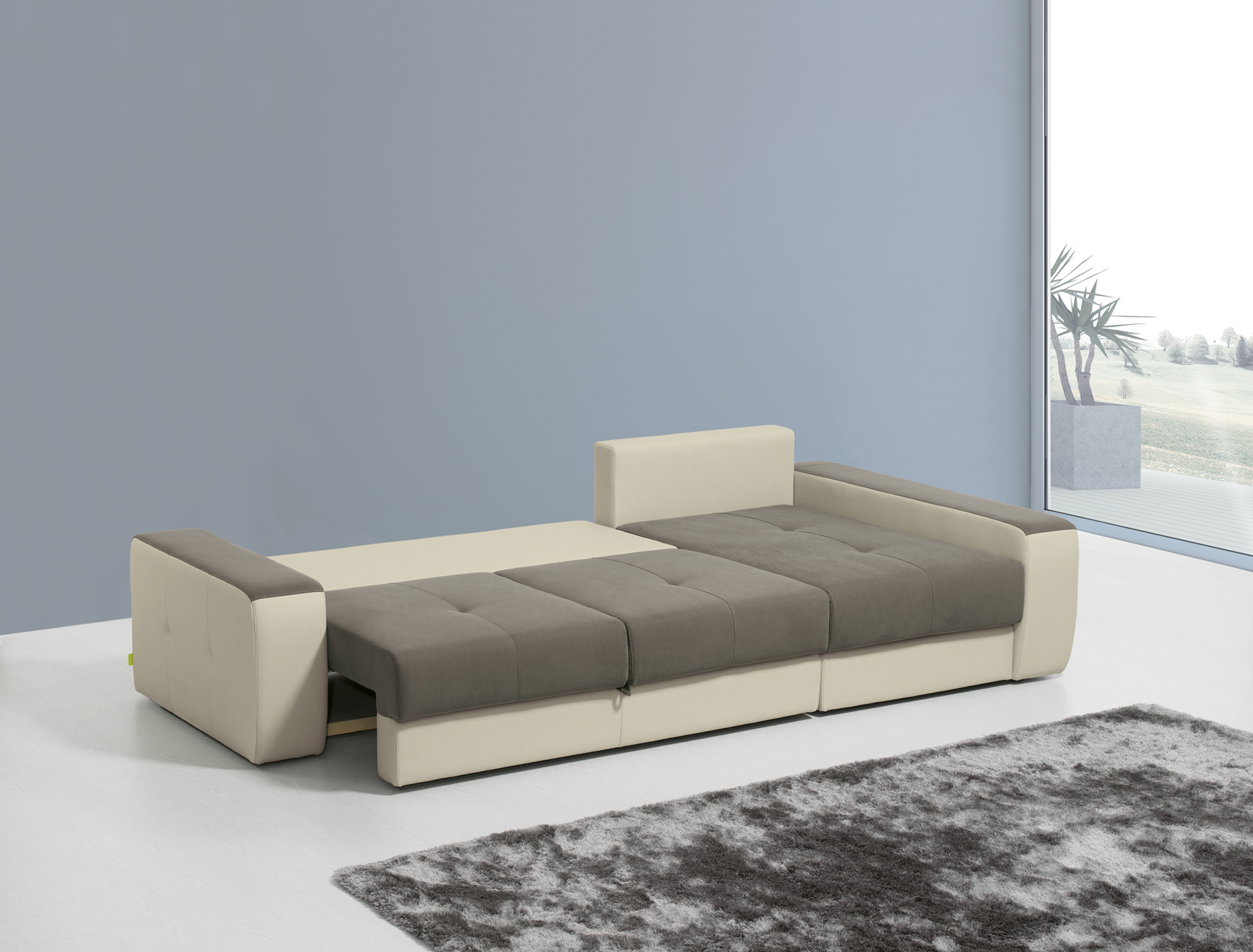 Sof cama lucho chaise long mundo do sof for Mundo sofas