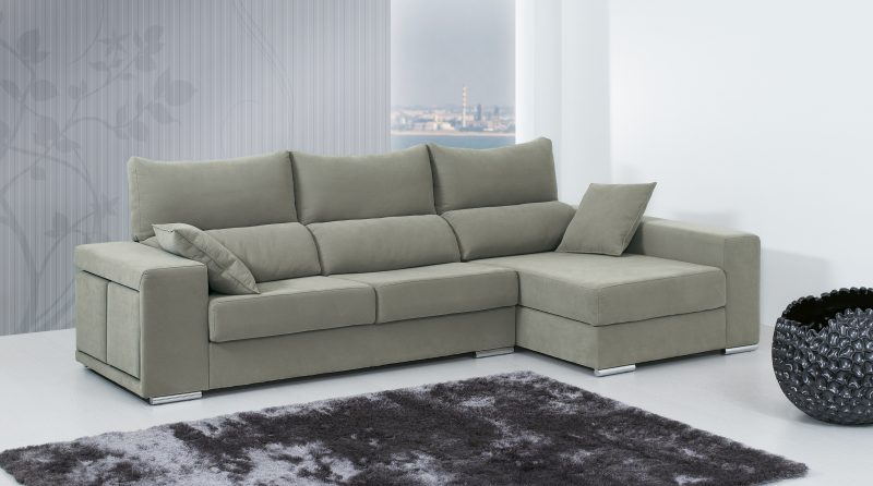 Sof luna chaise long mundo do sof for Mundo sofas