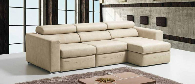 Sof flora chaise long mundo do sof for Mundo sofas