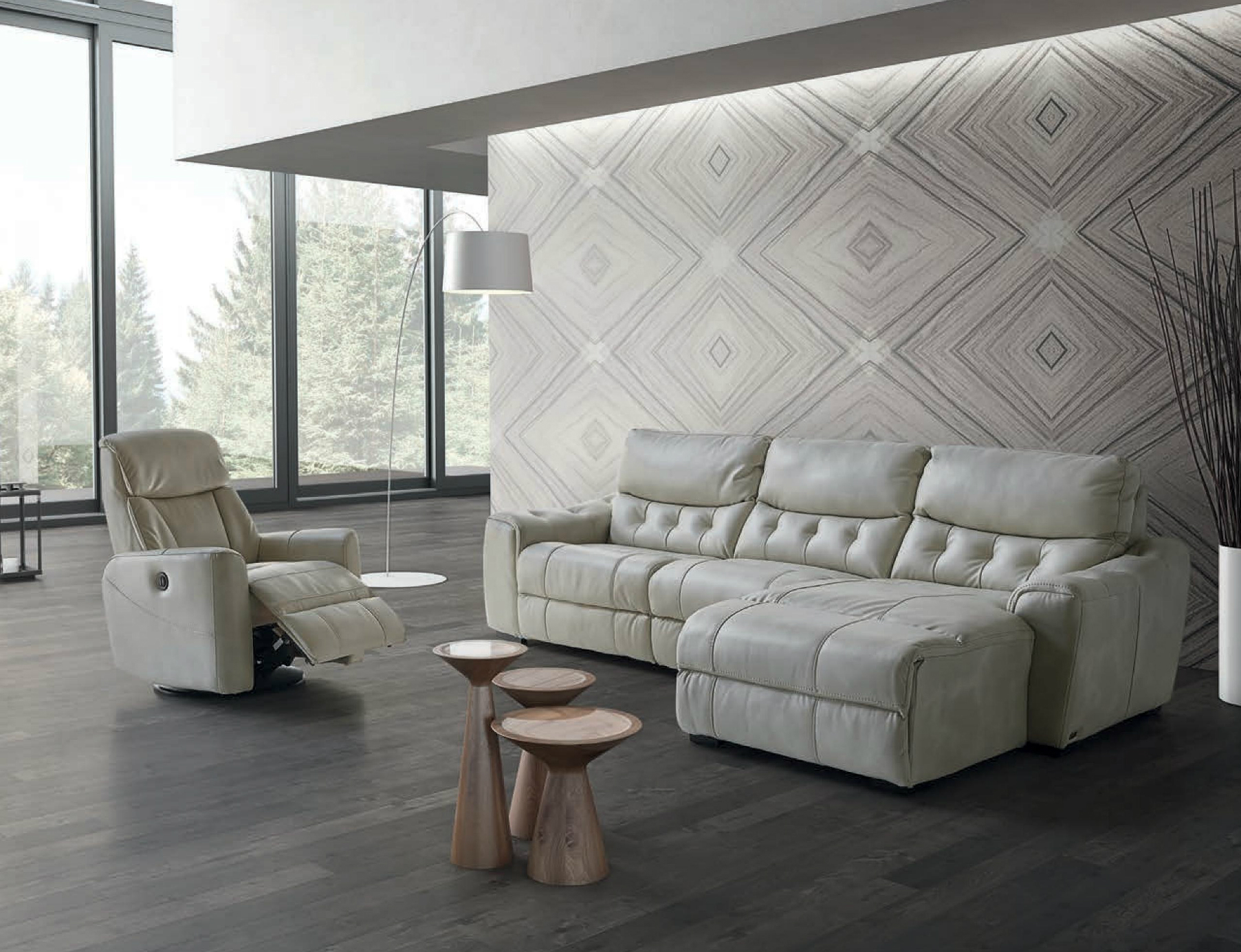 Sof chaise long 1005 com relax el ctrico mundo do sof for Mundo sofas